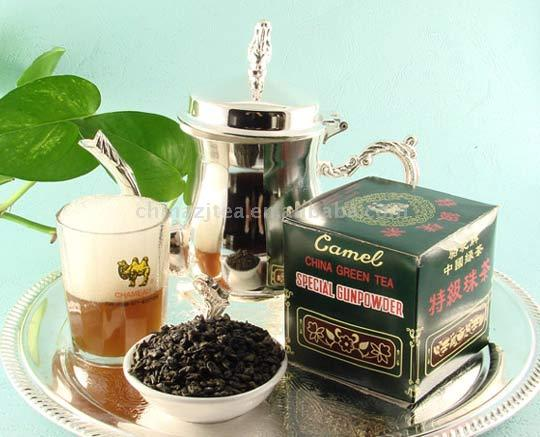 Я влюблённый в чай зелёный.